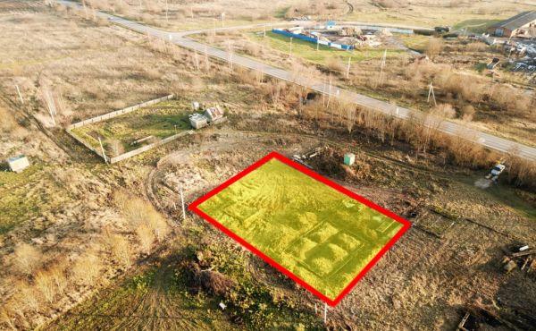 Участок 12 соток, ИЖС, в д.Клишино Волоколамского района